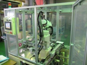 ロボット自動化自動:ワーク整列ロボットシステム