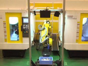 ロボット自動化事例:バラ積み取り出し