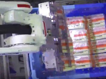 ロボット自動化事例:重箱詰めロボットシステム