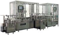液体・粉体兼用自動充填シール装置