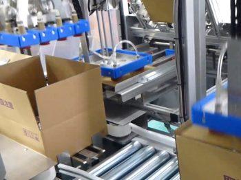 ロボット自動化事例:移載・払い出しロボットシステム